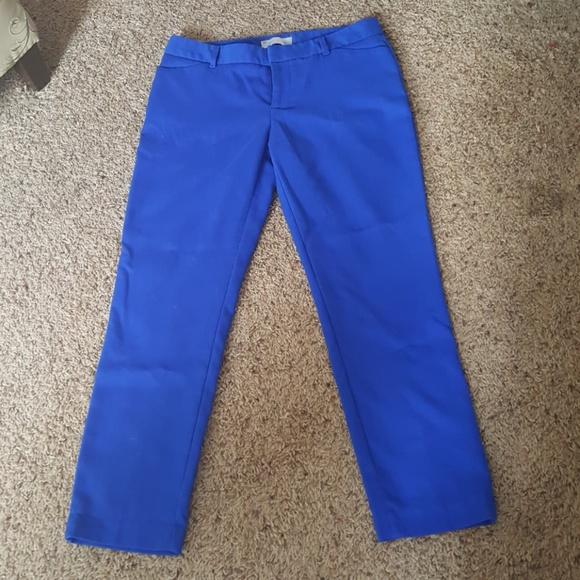 488b441517f GAP Pants - Women s Gap size 2 stretch royal blue pants